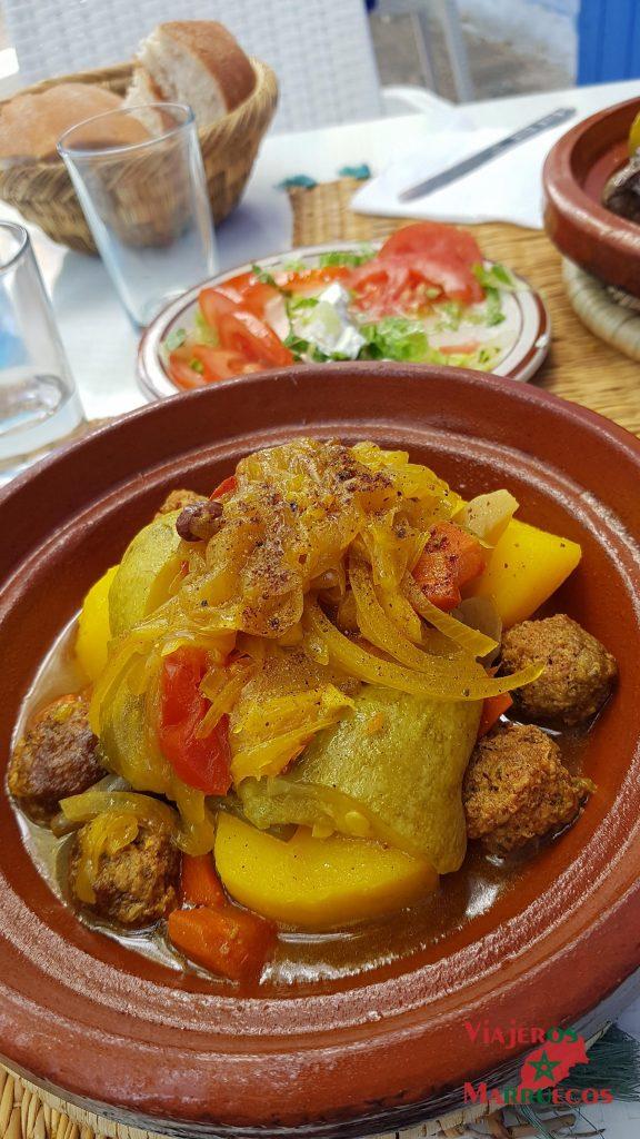 donde comer un Tagine de carne en restaurante Assaada