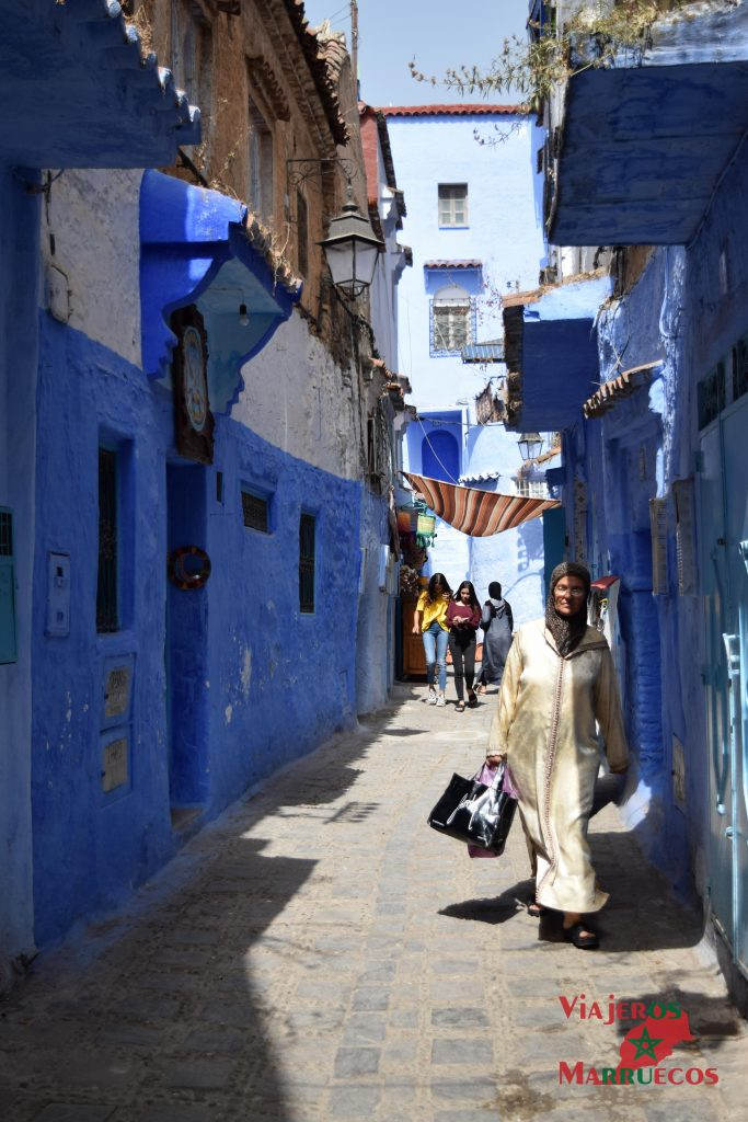 medina de Chefchaouen, pueblo azul marruecos chaouen