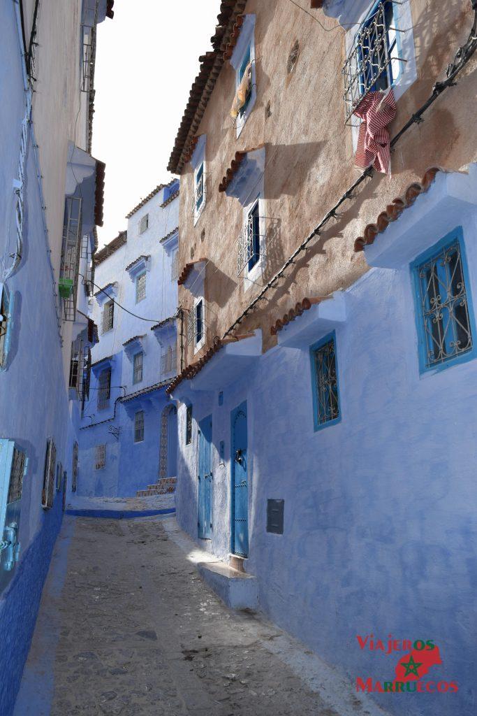 pueblo azul de marruecos chefchaouen