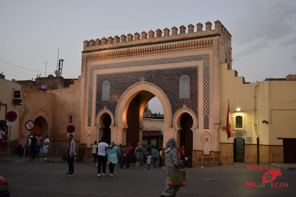 Fez-Puerta Azul