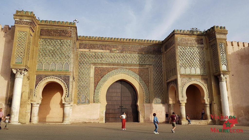 Puerta Bab el-Mansour Marruecos