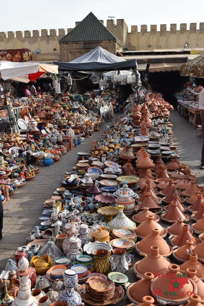 La plaza el-Hedim Marrakech Marruecos