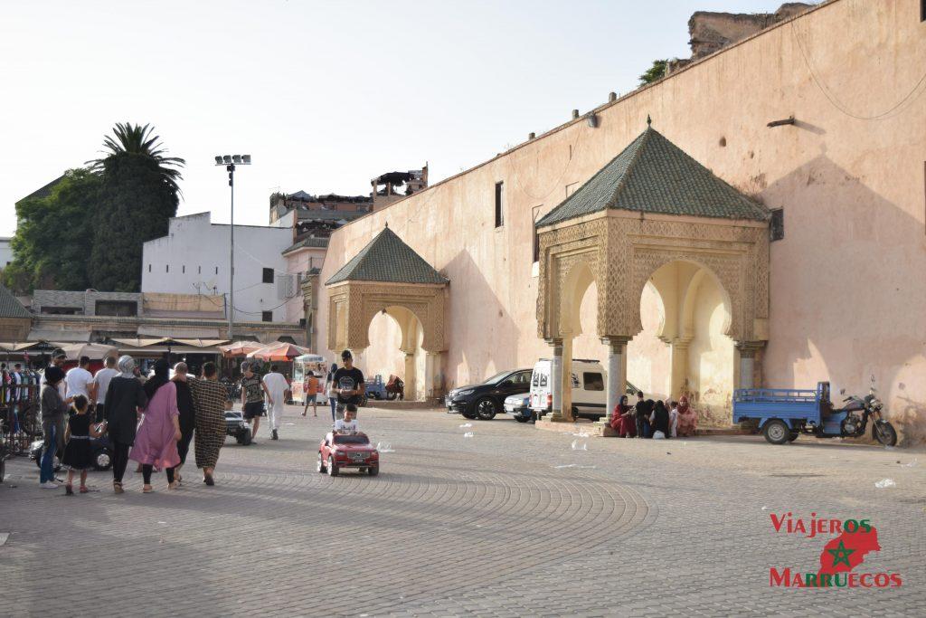 Muralla de la Plaza el-Hedim en Meknes