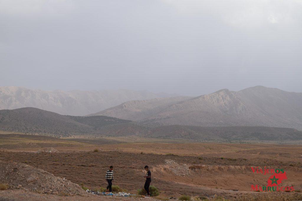 Montañas alrededor de Midelt