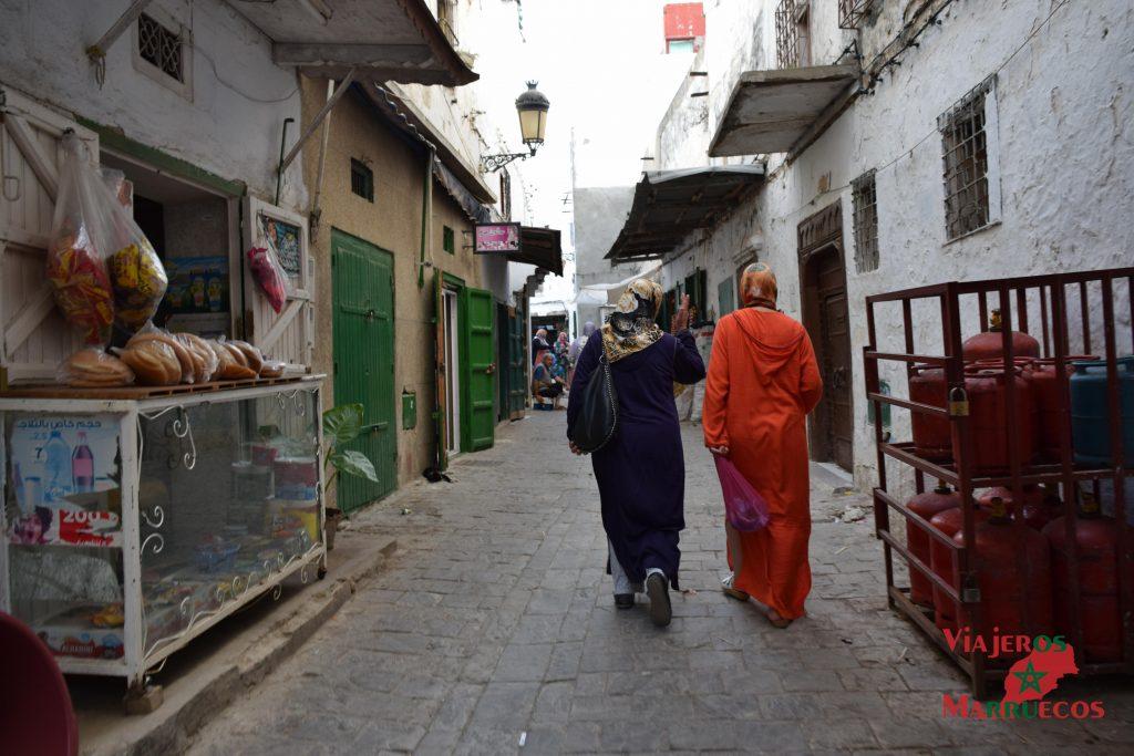Calles de la medina de Tetuán