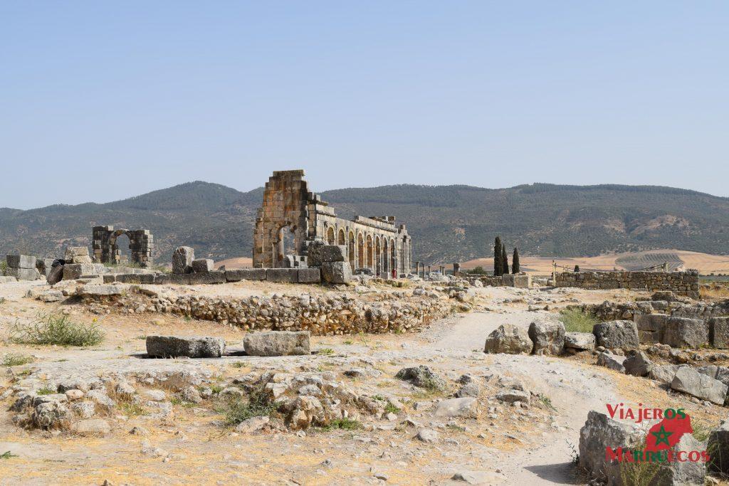 Ruinas Romanas Volubilis Marruecos