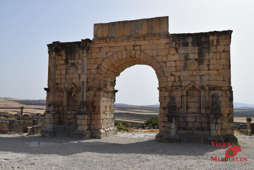 Arco de Caracalla ruinas romanas de volubilis