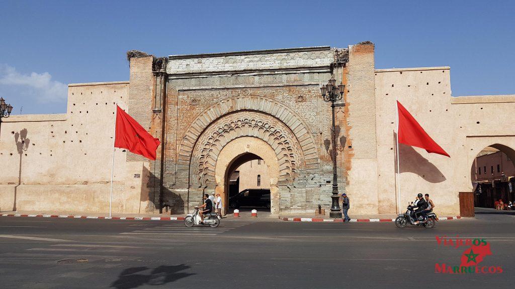 Puerta Bab Agnaou en Marrakech