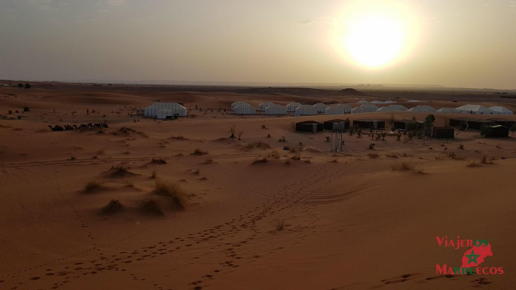 Amanecer en Erg Chebbi Desierto Marruecos