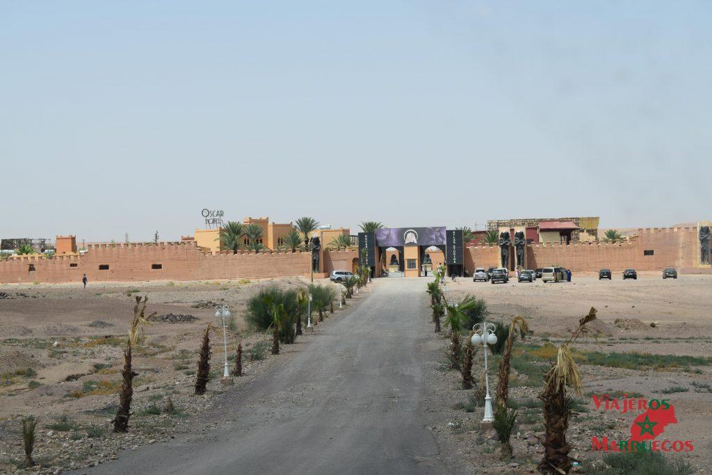 Entrada Atlas Estudios Marruecos