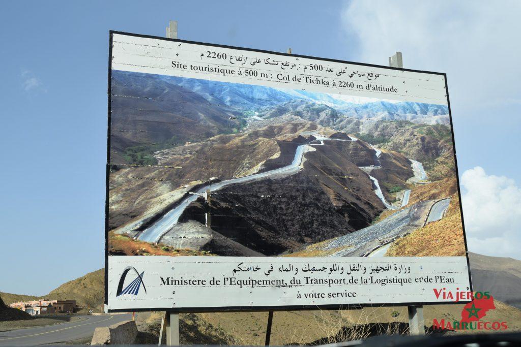 Col de Tichka Marruecos