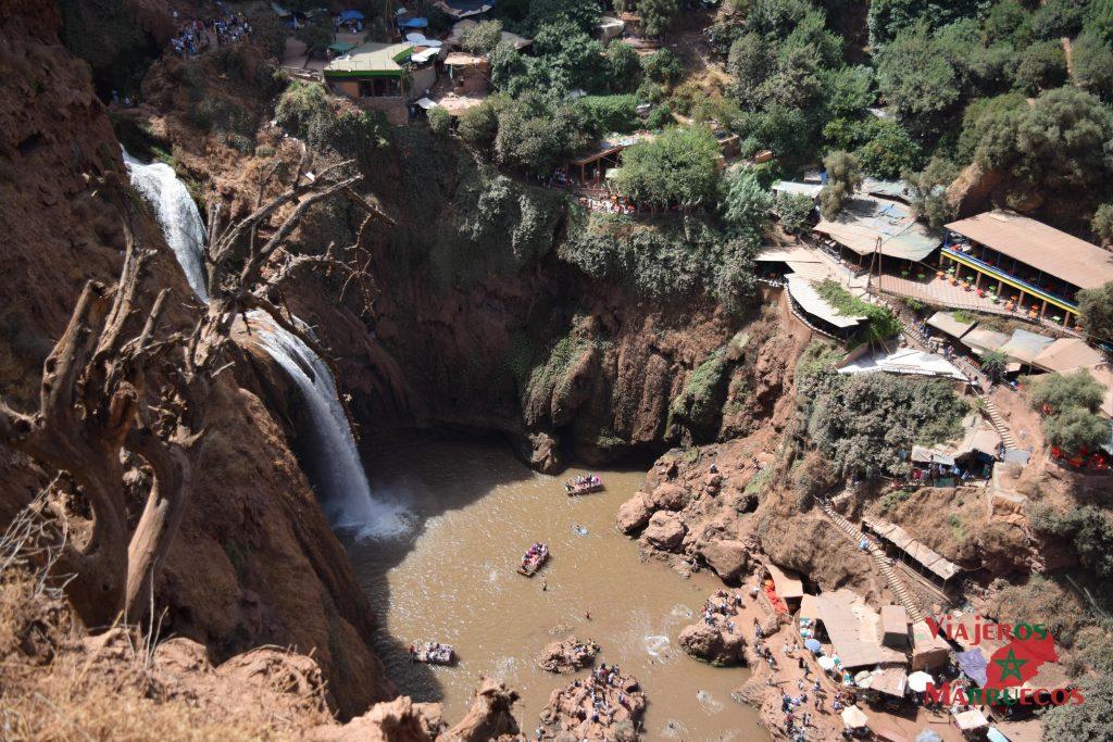 Cascadas de Ouzoud - cataratas de ouzoud