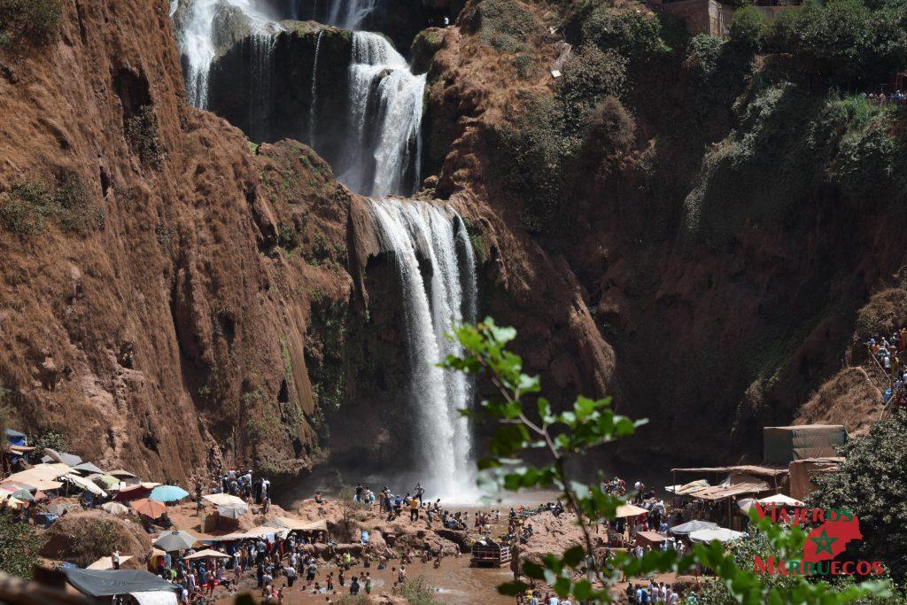 La mejor cascada de Ouzoud